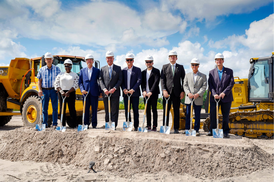 ARCO Breaks Ground on 1.2 Million Square Foot Distribution Facility & Showroom for CITY Furniture